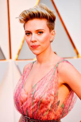 Actor Scarlett Johansson attends the 89th Annual Academy Awards at Hollywood & Highland Center on February 26, 2017 in Hollywood, California.  (Photo by Frazer Harrison/Getty Images)