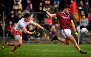 Galway's Paul Conroy lines up a shot. Photo: David Fitzgerald/Sportsfile