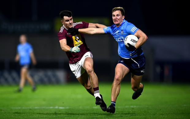 Ciaran Kilkenny was very influential as Dublin eased into the Leinster semi-final. Photo by David Fitzgerald/Sportsfile