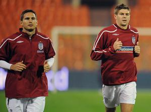 Frank Lampard received support from ex-England team-mate Steven Gerrard on Tuesday morning (Owen Humphreys/PA)