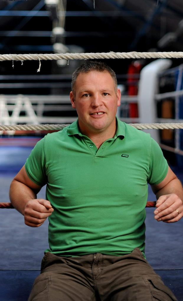 Cathal O'Grady is a former Olympic boxer and holds ten national titles and a European Junior Heavyweight title. He was diagnosed with mouth cancer in 2016. Picture credit: Brian Lawless / SPORTSFILE