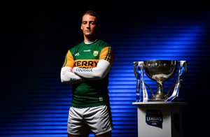 Kerry's Stephen O'Brien at the launch of the Allianz Leagues earlier this year