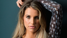 Workaholic: Model Vogue Williams Photo: Kip Carroll