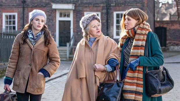 Waspish one-liners: Aisling Bea, Sorcha Cusack and Sharon Horgan in This Way Up
