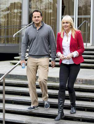 """18/01/2015. Pictured is Minister for Health Leo Varadkar in the RTE radio studios where he told Miriam O'Callaghan he was a """"gay man"""" and it was """"no secret"""". Photo: El Keegan"""