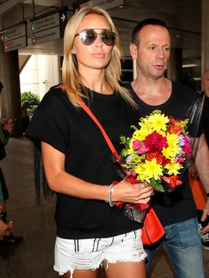 Alex Curran is seen at LAX on June 27, 2015 in Los Angeles, California.  (Photo by GVK/Bauer-Griffin/GC Images)