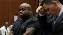 LOS ANGELES, CA - FEBRUARY 03:  Cee Lo Green, singer and coach on the television show 'The Voice', appears in court on February 3, 2014 in Los Angeles, California. Green has been accused of slipping ecstasy to a woman through her drink at dinner in a downtown L.A. restaurant.    (Photo by Mario Anzuoni-Pool/Getty Images)
