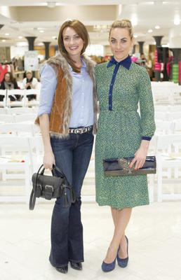 Ingrid Hoey & Kathryn Thomas pictured at the launch of the Arnotts Spring / Summer 2015 collections