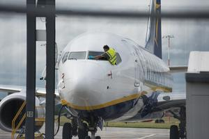 Deep clean: airlines have introduced safety measures both during check-in and on board