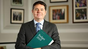 Finance Minister Paschal Donohoe. Photo: Gerry Mooney