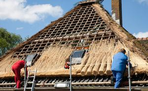 As the craft of thatching dates back almost 5,000 years, it is one of the oldest traditional skills in this country.