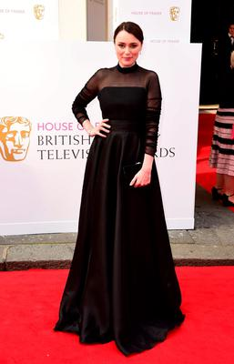 Keeley Hawes arrives for the House of Fraser British Academy of Television Awards at the Theatre Royal, Drury Lane in London. PRESS ASSOCIATION Photo. Picture date: Sunday May 10, 2015. See PA story SHOWBIZ Bafta. Photo credit should read: Ian West/PA Wire