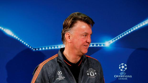 As the pressure builds, Manchester Utd manager Louis van Gaal could really do with a win in Germany tonight