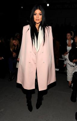 Kylie Jenner attends the 3.1 Phillip Lim fashion show at Skylight Clarkson SQ.