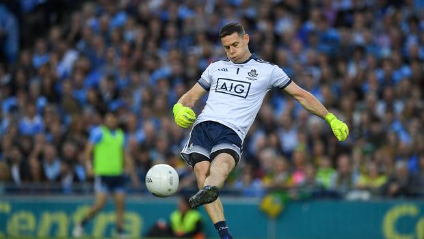 Dublin's legendary goalkeeper and captain Stephen Cluxton. Photo by Ray McManus/Sportsfile