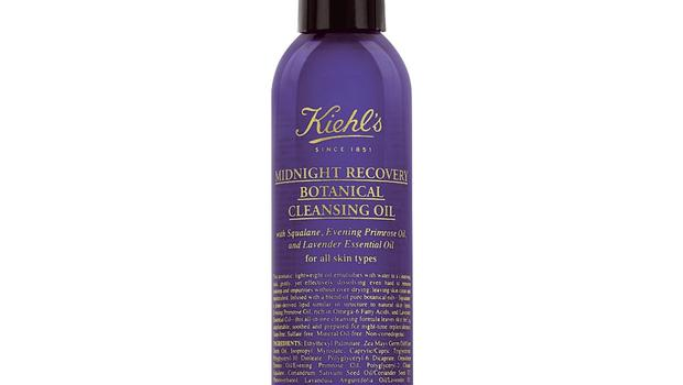 Kiehl's new mineral oil-free Botanical Cleansing Oil