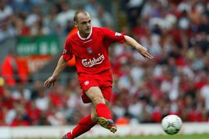 Danny Murphy in action for Liverpool