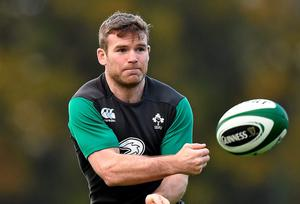 Gordon D'Arcy has a fight on his hands to retain his place as an Ireland starter. Brendan Moran / SPORTSFILE