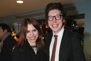 Billie Piper and Ben Power. Collins Photo: Michael Donnelly.