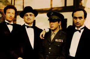 James Caan (left) in 'The Godfather'