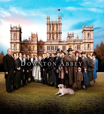 Undated handout file photo issued by ITV of The Downton Abbey Series 5 cast