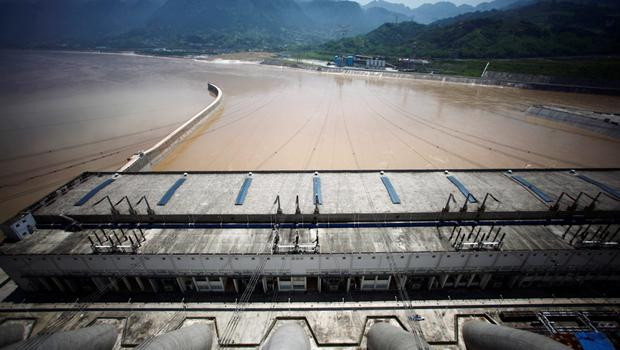 General view from the Three Gorges dam over the Yangtze River in Yichang, Hubei province, China, in this August 9, 2012 file picture. REUTERS/Carlos Barria/Files