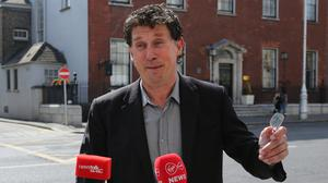 Government talks: Green Party leader Eamon Ryan believes they have negotiated a good deal. Photo: Gareth Chaney/Collins Photos