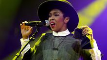 Singer/songwriter Lauryn Hill performs onstage at the Amnesty International Concert presented by the CBGB Festival at Barclays Center on February 5, 2014 in New York City.  (Photo by Theo Wargo/Getty Images for CBGB)