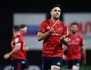 Conor Murray is looking forward to playing with World Cup-winning duo RG Snyman and Damian de Allende. Photo by Seb Daly/Sportsfile