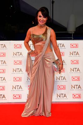 Lizzie Cundy attends the National Television Awards on January 25, 2017 in London, United Kingdom.  (Photo by Anthony Harvey/Getty Images)