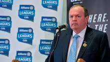 GAA president Liam O'Neill has outlined that a motion is to be brought to Congress seeking stiffer penalties for racial and sectarian abuse. Photo: Brendan Moran / SPORTSFILE