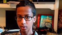 Ahmed Mohamed (14) is a fan of robotics