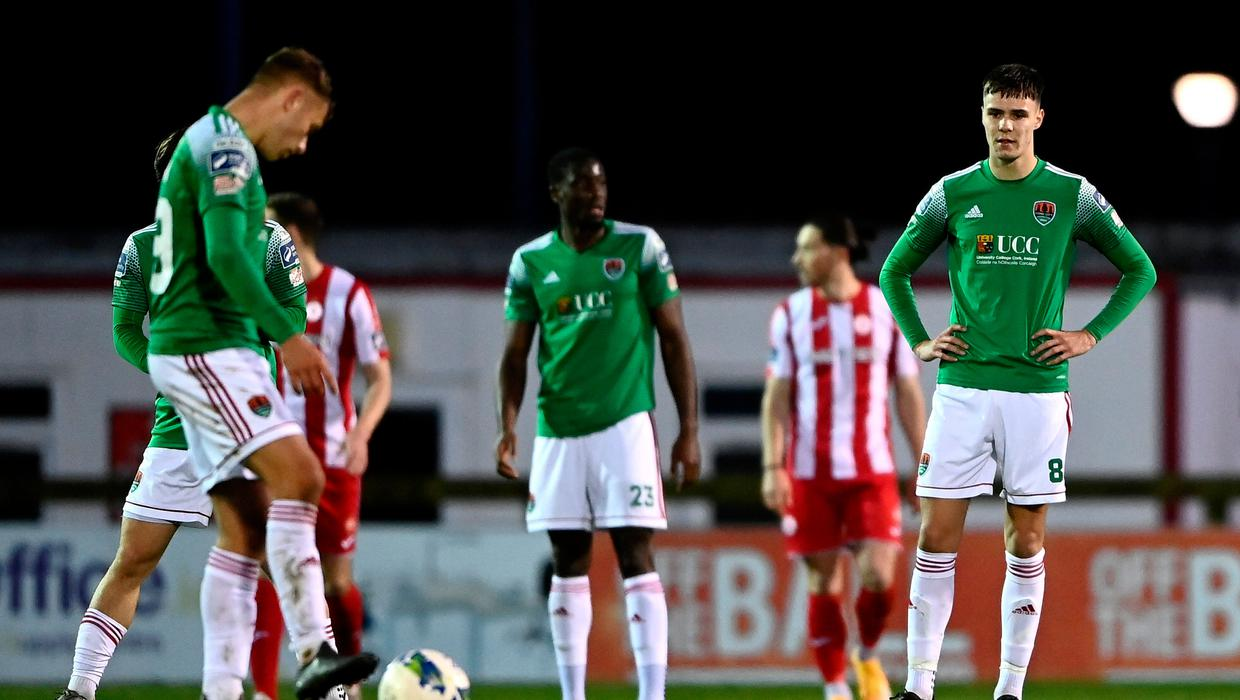 Cork City's relegation to First Division confirmed after Saturday's results