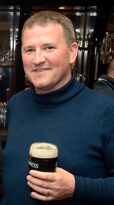 Graham Dwyer pictured at a social function in Bandon, Co Cork for former scouts.