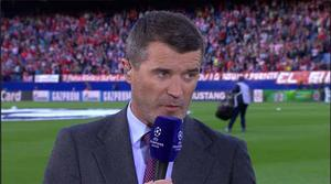 Roy Keane making comments about David Moyes sacking on ITV  Pic: ITV sport