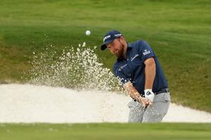 TARGET: Ireland's Shane Lowry in action