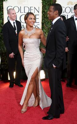 Beyonce and Jay-Z arrive at the 66th Annual Golden Globe Awards