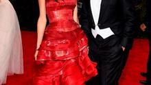"""Amal Clooney and George Clooney attend the """"China: Through The Looking Glass"""" Costume Institute Benefit Gala at the Metropolitan Museum of Art"""