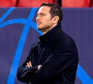 Chelsea manager Frank Lampard. Photo: Getty Images