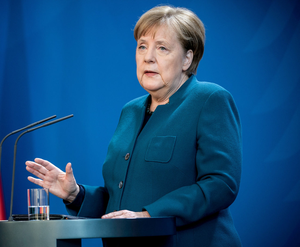 German Chancellor Angela Merkel is opposed proposal for euro bonds. Photo: Reuters