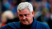 Manager Steve Bruce is aware of the doomsday scenario. Photo: Reuters/Craig Brough/File Photo
