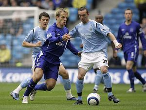 HISTORY: Stephen Ireland during his time as a Manchester City player in the Premier League. Photo: PA
