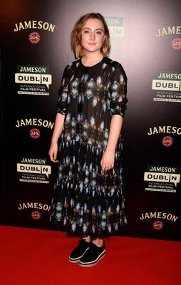 Actress Saoirse Ronan attends a screening of Lost River at Cineworld in 2015