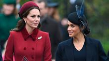 SISTER DUCHESSES WITH DIFFERENT STYLES: Kate Middleton accepted the self-sacrifice of life as a senior royal whereas Meghan Markle chose not to stay calm and carry on. Photo: PA