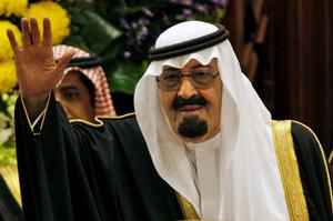 On early Friday, Saudi state TV reported King Abdullah died at the age of 90. Photo: AP