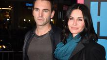 Courteney Cox and Norther Irish musician Johnny McDaid