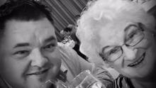 Ian O'Sullivan pictured with his late mother Mary. Photo: RedFM
