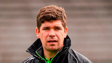 Fitzmaurice (p) doesn't buy the argument that the change in structure will only serve the stronger sides, and he insists its up to the rest to close the gap.' Photo: Sportsfile