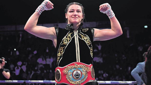 Katie Taylor is set for a showdown against Amanda Serrano in New York