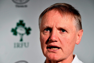 'This game will be a leg-up for Joe Schmidt, whose team will play a lot more rugby than they did in the Olympic Stadium, when they managed to make Italy look slick' Photo: Sportsfile